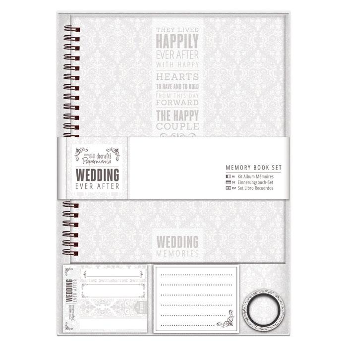 Scrap Book Wedding, Hochzeitsbuch zum Selbstgestalten
