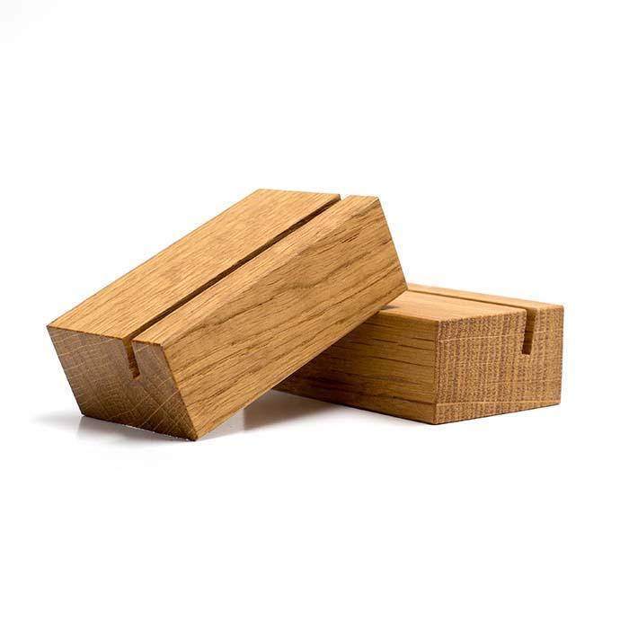 Holzaufsteller aus Eiche