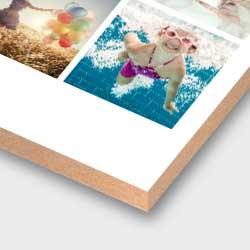 Deine Poster Collage auf Holz